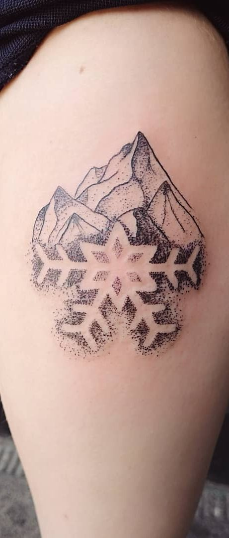 Inspiring Snowflake Tattoos Ideas For Winter 2019 Page 2
