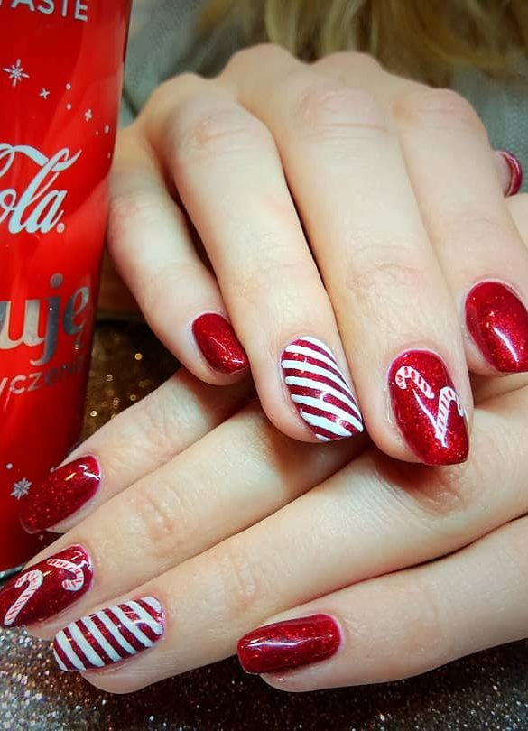 43 Feast and Bright Nail Art Ideas 2019 for Christmas , Page