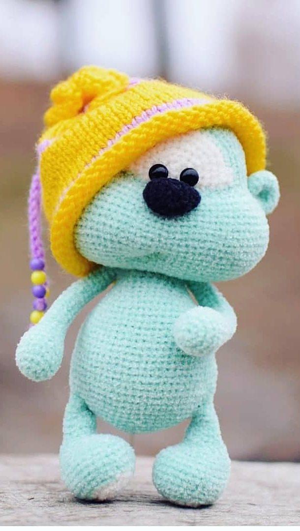 Crochet Cute Critters: 26 Easy Amigurumi Patterns (English Edition ... | 1080x610